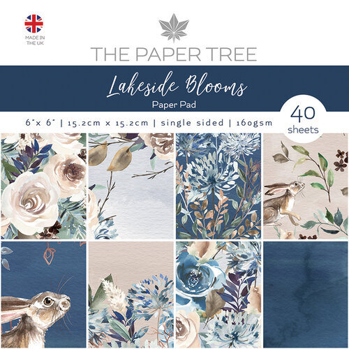 The Paper Tree - Lakeside Blooms Collection - 6 x 6 Paper Pad