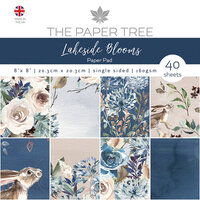 The Paper Tree - Lakeside Blooms Collection - 8 x 8 Paper Pad