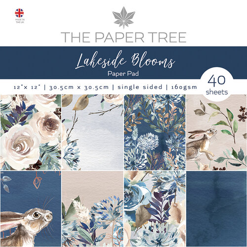 The Paper Tree - Lakeside Blooms Collection - 12 x 12 Paper Pad