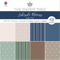 The Paper Tree - Lakeside Blooms Collection - 8 x 8 Essentials Paper Pad