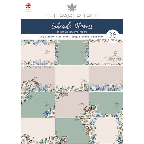 The Paper Tree - Lakeside Blooms Collection - Insert Collection
