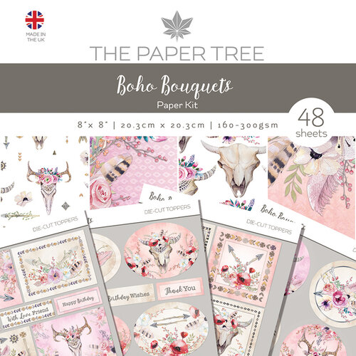 The Paper Tree - Boho Bouquets Collection - Paper Kit