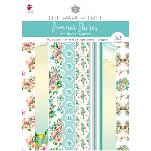 The Paper Tree - Summer Shores Collection - A4 Die Cut sheets