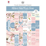The Paper Tree - Where Wild Roses Grow Collection - Die Cut Sheets - A4 Paper Pad