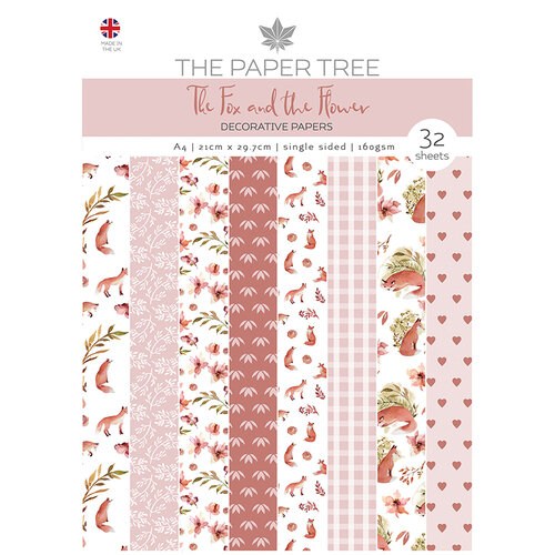 The Paper Tree - The Fox and The Flower Collection - A4 Paper Pad