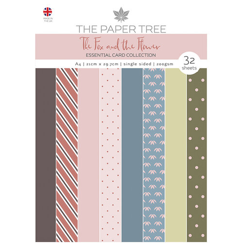 The Paper Tree - The Fox and The Flower Collection - A4 Essentials Paper Pad