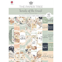 The Paper Tree - Secrets of the Forest Collection - Die Cut Sheets - A4 Paper Pad