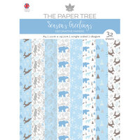 The Paper Tree - Seasons Greetings Collection - A4 Backing Papers