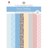 The Paper Tree - Seasons Greetings Collection - A4 Essential Colour Card