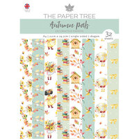 The Paper Tree - Autumn Pals Collection - A4 Backing Papers