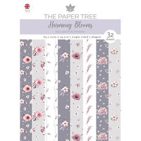 The Paper Tree - Harmony Blooms Collection - A4 Backing Papers