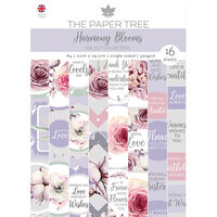 The Paper Tree - Harmony Blooms Collection - A4 Die Cut sheets