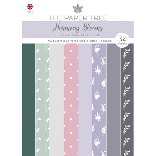The Paper Tree - Harmony Blooms Collection - A4 Essential Colour Card