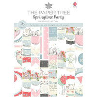 The Paper Tree - Springtime Party Collection - A4 Die Cut Sheets