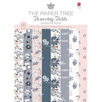 The Paper Tree - Flowering Fields Collection - A4 Backing Papers