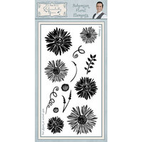 Creative Expressions - Sentimentally Yours Collection - Clear Acrylic Stamp - Floral Elements