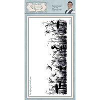 Creative Expressions - Sentimentally Yours Collection - Unmounted Rubber Stamps - Magical Meadow