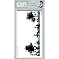 Creative Expressions - Sentimentally Yours Collection - Unmounted Rubber Stamps - Secret Woodland