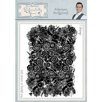Creative Expressions - Sentimentally Yours Collection - Cling Rubber Stamp - A6 - Bohemian Background