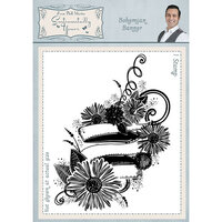 Creative Expressions - Sentimentally Yours Collection - Cling Rubber Stamp - A6 - Bohemian Banner