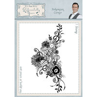 Creative Expressions - Sentimentally Yours Collection - Cling Rubber Stamp - A6 - Bohemian Corner