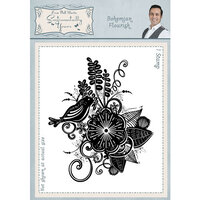 Creative Expressions - Sentimentally Yours Collection - Cling Rubber Stamp - A6 - Bohemian Flourish