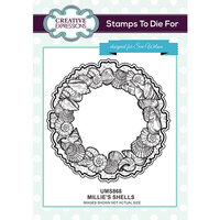 Creative Expressions - Stamps To Die For Collection - Clear Acrylic Stamps - Millie's Shells