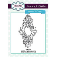 Creative Expressions - Stamps To Die For Collection - Clear Acrylic Stamps - Jocelyn's Flower