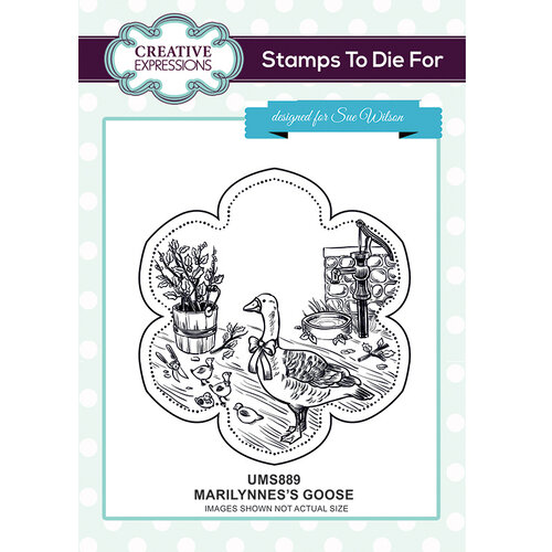 Creative Expressions - Christmas - Unmounted Rubber Stamps - Marilynne