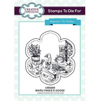 Creative Expressions - Christmas - Unmounted Rubber Stamps - Marilynne's Goose