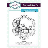 Creative Expressions - Christmas - Unmounted Rubber Stamps - Marilynne's Lamplight