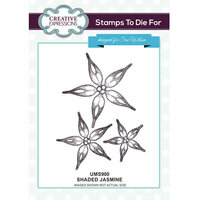 Creative Expressions - Stamps To Die For Collection - Clear Acrylic Stamps - Jasmine