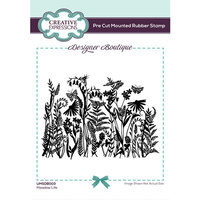 Creative Expressions - Designer Boutique Collection - Pre Cut Rubber Stamp - Meadow Life