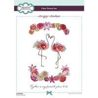 Creative Expressions - Designer Boutique Collection - Clear Acrylic Stamps - Perfect Partners