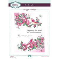 Creative Expressions - Designer Boutique Collection - Clear Acrylic Stamps - Nightingale's Song
