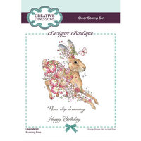 Creative Expressions - Designer Boutique Collection - Clear Acrylic Stamps - Running Free