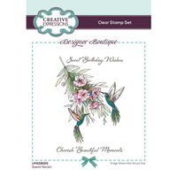Creative Expressions - Designer Boutique Collection - Clear Acrylic Stamps - Sweet Nectar