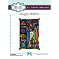 Creative Expressions - Designer Boutique Collection - Stained Glass Holy Family