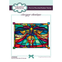 Creative Expressions - Designer Boutique Collection - Stained Glass Star of Wonder