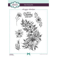 Creative Expressions - Designer Boutique Collection - Clear Acrylic Stamps - Blooming Day