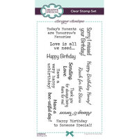 Creative Expressions - Designer Boutique Collection - Clear Acrylic Stamps - Sending Love