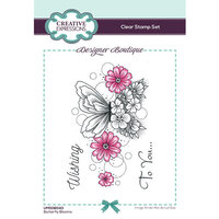 Creative Expressions - Designer Boutique Collection - Clear Photopolymer Stamps - A6 - Butterfly Blooms