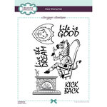 Creative Expressions - Designer Boutique Collection - Clear Photopolymer Stamps - A5 - Dapper Zebra