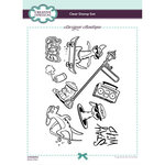 Creative Expressions - Designer Boutique Collection - Clear Photopolymer Stamps - A5 - Skate-Kats
