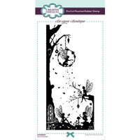 Creative Expressions - Designer Boutique Collection - DL Rubber Stamps - Secret Garden