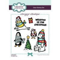 Creative Expressions - Designer Boutique Collection - Christmas - Clear Photopolymer Stamps - Wrapped Up