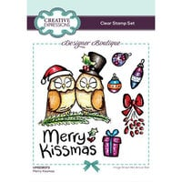 Creative Expressions - Designer Boutique Collection - Christmas - Clear Photopolymer Stamps - Merry Kissmas