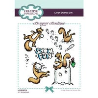 Creative Expressions - Designer Boutique Collection - Christmas - Clear Photopolymer Stamps - It's Snowtime!