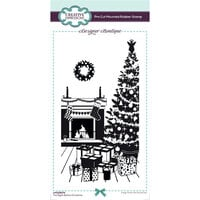 Creative Expressions - Designer Boutique Collection - DL Unmounted Rubber Stamps - Slimline - The Night Before Christmas