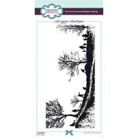 Creative Expressions - Designer Boutique Collection - Christmas - DL Unmounted Rubber Stamps - Slimline - Snow Days